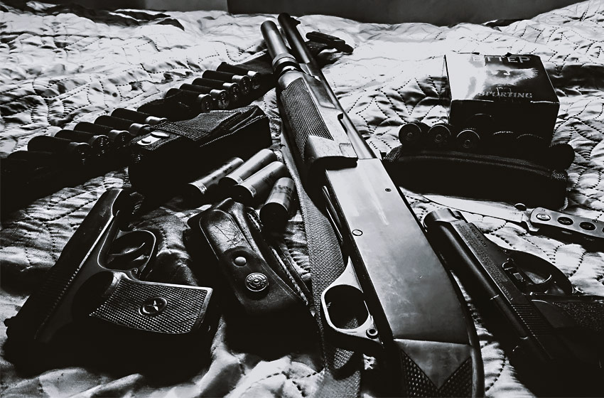 27 Guns Found in the Home of a Domestic Violence Perpetrator